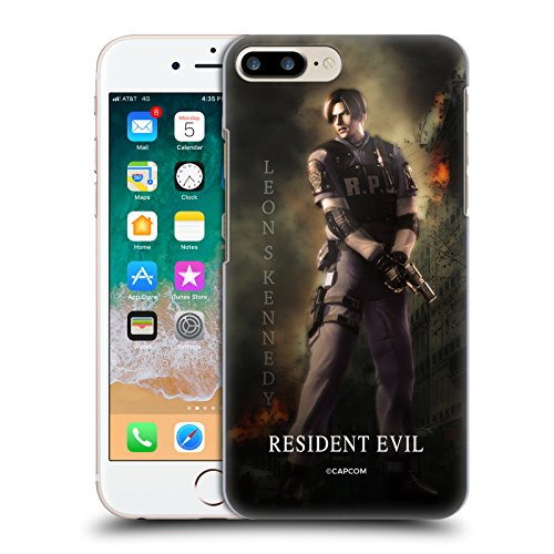 Official Resident Evil Leon S. Kennedy Operation Raccoon City 2 Hard Back Case Compatible for iPhone 7 Plus/iPhone 8 Plus (Resident Evil Operation Raccoon City Best Character)