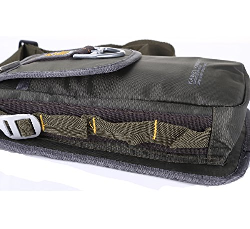 Kawei Knight Nylon Tactical Leg Bag Fanny Pack Pouch Bag Color Army Green