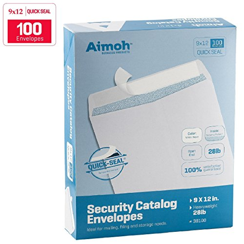 9x12 SELF SEAL Security Envelopes QUICK SEAL product image