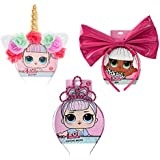 LOL! Surprise Party Supplies Headbands Pack of Three   Unicorn, Crystal Queen, and Diva