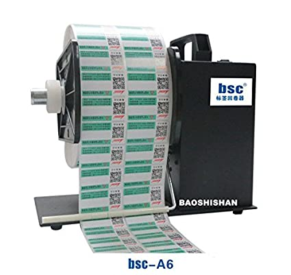 Label Applicators BSC-A6 Automatic Label Rewinder Label Rewinding Machine