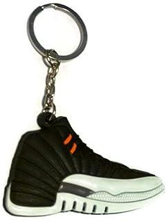 5b62e8063ade74 Amazon.com   Jordan Retro 1 OG Shadow Sneaker Keychain Shoes Keyring ...