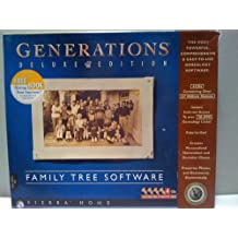 Generations Deluxe Edition Family Tree Software