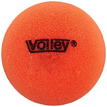 Volley 3-1/2 in Uncoated Very Low Bounce Foam Balls, Set of 6