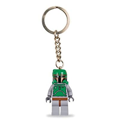 Lego Star Wars 851659 Boba Fett Key Chain: Toys & Games
