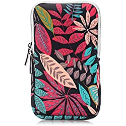 CoolBELL 7.0 Inch Sleeve With Colorful Leaves Pouch Cover Case For Fire 7 / Fire HD 6 / Fire HD 7 / Men/Women/Teens