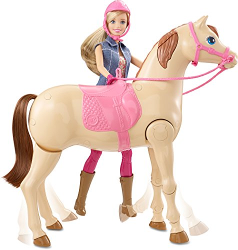 Barbie Jumps And Rides