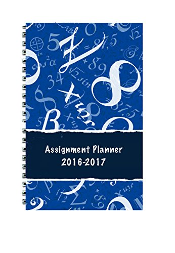 House of Doolittle 2016-2017 Weekly Academic Planner Assignment Book, Math, 5 x 8
