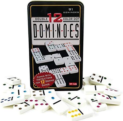 Domino doble 12.Niños y adultos Juego de táctica - Juego de mesa ...