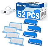 Medihealer CPAP Filters 52 Packs Compatible with