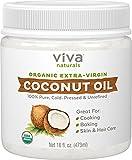 Aceite De Coco Para La Piel Reseca Y Cara - Organico Extra Virgen Sin Refinar - Para Nutrir Tu Piel, Mantenerla Joven Y Protegida