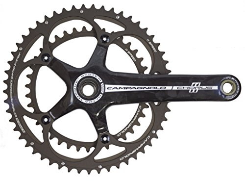 (Campagnolo Chorus 11 Ultra-Torque Carbon Crankset One Color, 53/39, 170mm)