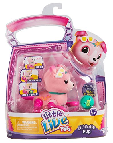 Little Live Pets Lil' Cutie Pups Season 2 Single Pack - Shine Apple -