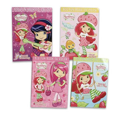 Strawberry Shortcake Coloring Book - 4 Astd. - Strawberry Shortcake Coloring Book