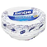 Party Dixie Everyday Disposable Paper Bowls, 10 oz, 42 count