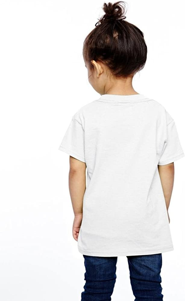 Baby Boys Girls No One Fights Alone Cute T-Shirt Short Sleeve Tee for 2-6 Years Old