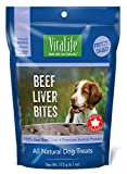 VitaLife Freeze Dried Dog Treats – All Natural, Beef Liver Bites, 6.1 oz For Sale