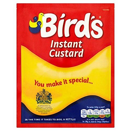 Instantánea natillas de pájaro Bolsita de 75 g (paquete de 18 x 75 g)