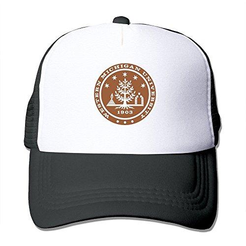 Western Michigan University Seal 100% Nylon Adult Baseball Cap Mesh Hat