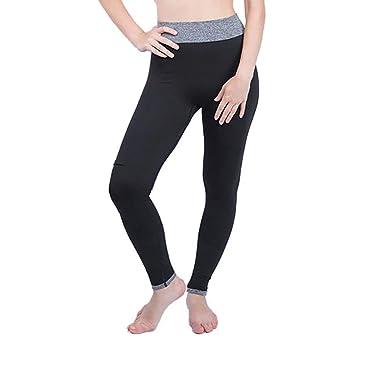Saoye Fashion Mujeres De Cintura Alta Leggings Deportivos ...