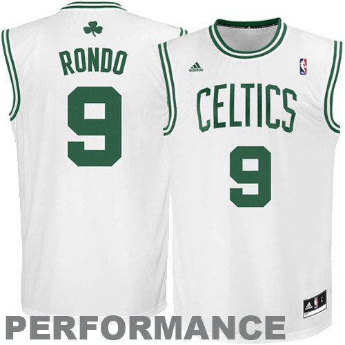 NBA Boston Celtics Rajon Rondo Youth 8-20 Replica Home Jersey, Small, (8 Home Replica Jersey)