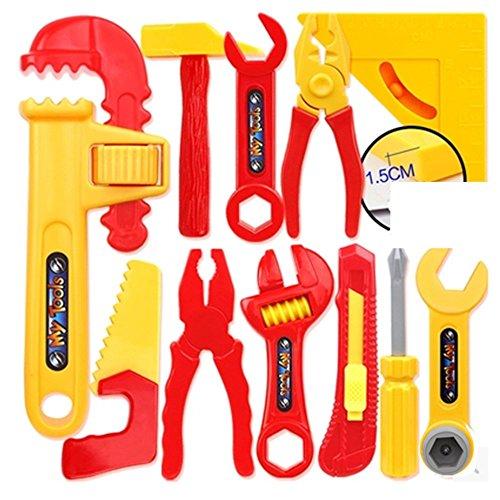 Dongcrystal DIY Repair Kids Tools Toys Set - Engineering Repair Tools (Construction Worker Costume Diy)