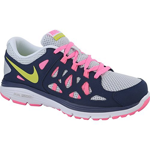 vamos a hacerlo boxeo modo  Nike Kids Fusion Run 2 599794006 Navy Pink Grey Lime Girls Running Shoes  Navy/Pink/Green/Grey 28 M EU: Amazon.in: Shoes & Handbags