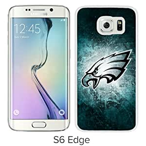 NFL Philadelphia Eagles White Recommended Customized Design Samsung Galaxy S6 Edge Case