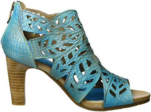 Laura Vita Women Pumps Blue, (blue-combi) Albana 04 Turchese (turchese)