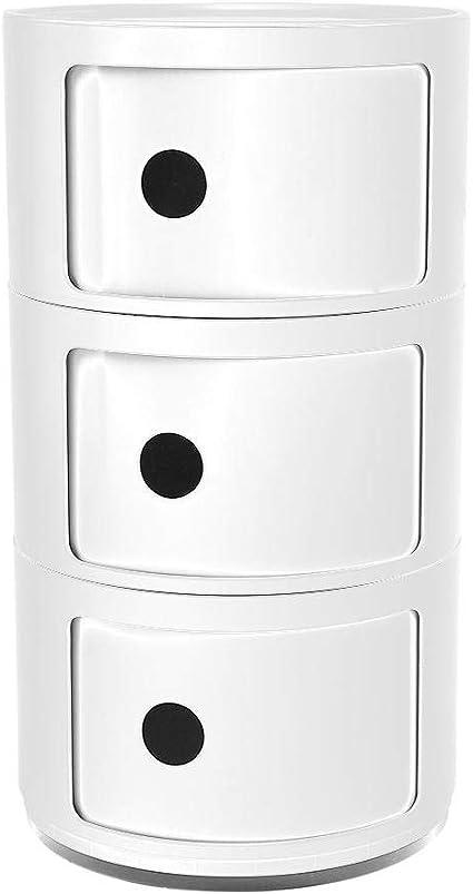32cm Negro EBTOOLS Mobile Bagno 3 Strati Componibile,Contenitore di Stoccaggio,Cassettiera in Tessuto,Cassettiera per la Camera da Letto,58 32