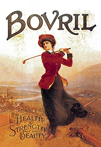 Buyenlarge 0-587-00902-0-C4466 ''Bovril-For Health, Strength and Beauty'' Gallery Wrapped Canvas Print, 44'' x 66''