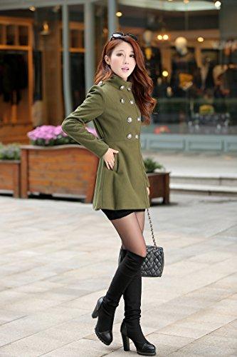 Manteau Militaire Vert Militaire Aisuper Femme Manteau Vert Aisuper Femme Aisuper Femme Manteau raSqawtBOn