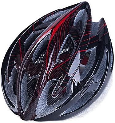 Relddd Bicicleta Casco Hecho de eps + pc con Luces traseras ...