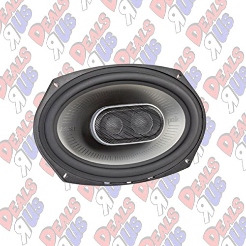 Polk Audio MM1 Series 6x9 Inch 450W Coaxial Marine Boat ATV Car Audio Speakers by Polk Audio (Image #2)