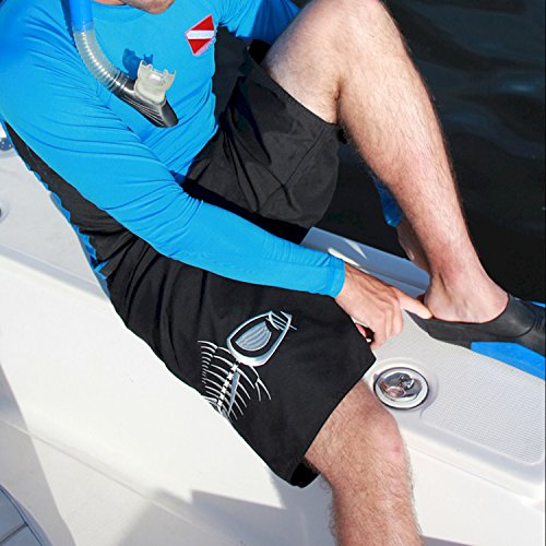 Tormenter men 39 s 5 pocket waterman fishing board shorts for for Fishing board shorts