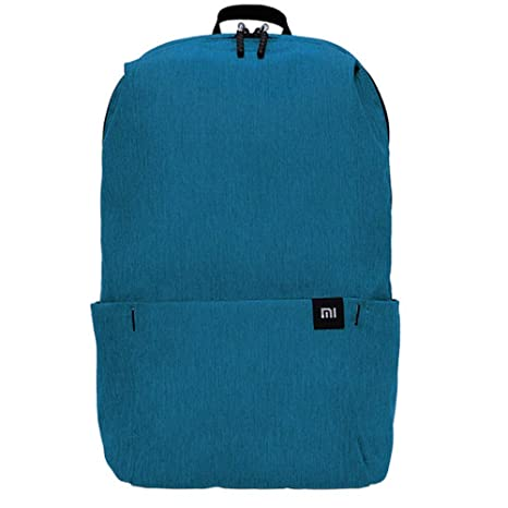 1749c5ed34f Amazon.com   Original xiaomi Mini Waterproof Lightweight Casual School  Backpack for Teens Kids Cycling Hiking Camping Travel Outdoor, One Size  (Bright Blue) ...