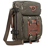 Outdoor Backpacks for School, Large Travel Bag Pack for Camping & Hiking, Multipurpose Casual Rucksack Daypack fits 14.5-Inch Notebook by KAUKKO (G)