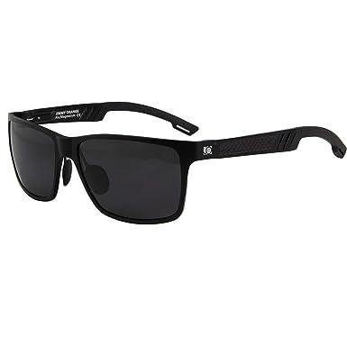 4b741eb6a Jimmy Orange Mirrored Lens Magnesium Aluminum frame Polarized sunglasses  Wayfarer Men High Quality Sun Glasses Women