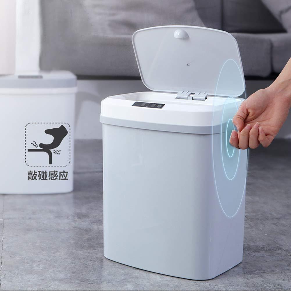 Blaward Cestino automatico del sensore Home Office Camera dalbergo Smart Trash 15L