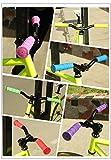 Star-Art 1 Pair Bike Handlebars Grips, Rubber