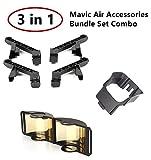 #1: DJI Mavic Air Necessary Accessories Bundle Set Combo 3 PACK Landing Gear Leg Extensions,Controller Signal Booster RangeExtender,Lens Gimbal Sunshade