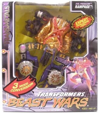 Amazon Com Transformers Beast Wars Transmetal Predacon Rampage
