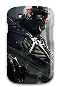 Nora K. Stoddard's Shop Christmas Gifts Top Quality Case Cover For Galaxy S3 Case With Nice New Crysis 2 Game Appearance