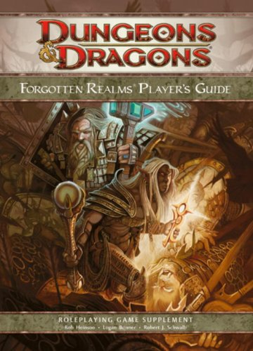 Dungeons & Dragons: Forgotten Realms Player's Guide- Roleplaying Game Supplement - Forgotten Realms Rpg