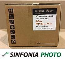 "Sinfonia CS2 4x6"" Print Media - 600 Prints"