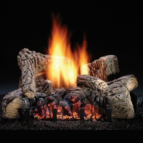 Hargrove Manufacturing 22 Inch Highland Glow Vent-free Log Set NG Variable Flame