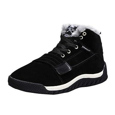 f8425e367586 Amazon.com: Oliviavan Men's Sport Shoes Low Ankle Trim Flat Ankle ...