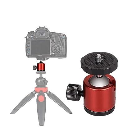 Mini trípode Giratorio de 360 Grados con Base de Rosca de 1/4 ...