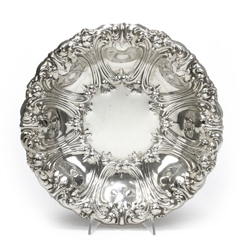 (Bowl by Gorham, Silverplate, Scroll Design)