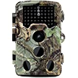 Roful Trail Camera, 16MP 1080P HD Game&Hunting Camera with 46pcs 850nm Low-Glow IR Leds and 120°PIR Sensors Up to 0.2s Trigger Time,Up to 65ft Night Vision,IP 56 Waterproof Surveillance Camera